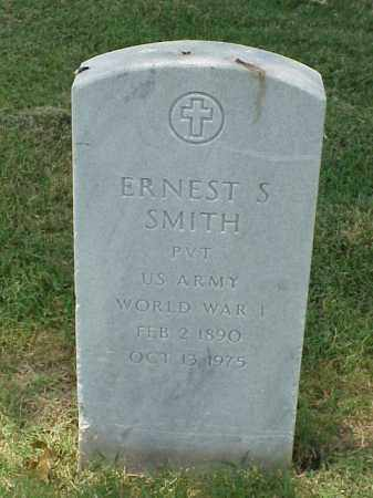SMITH (VETERAN WWI), ERNEST S - Pulaski County, Arkansas | ERNEST S SMITH (VETERAN WWI) - Arkansas Gravestone Photos