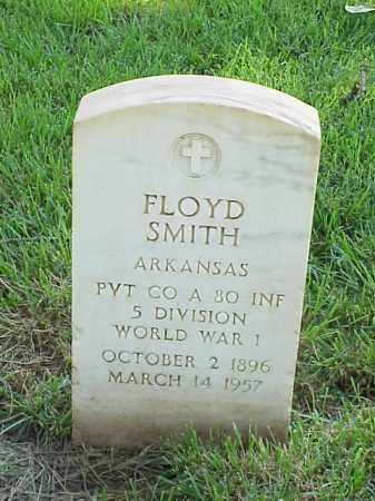 SMITH (VETERAN WWI), FLOYD - Pulaski County, Arkansas | FLOYD SMITH (VETERAN WWI) - Arkansas Gravestone Photos
