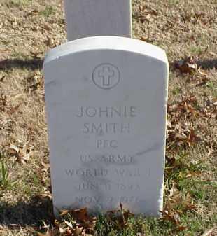 SMITH (VETERAN WWI), JOHNIE - Pulaski County, Arkansas | JOHNIE SMITH (VETERAN WWI) - Arkansas Gravestone Photos