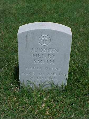 SMITH (VETERAN WWI), JUDSON HENRY - Pulaski County, Arkansas | JUDSON HENRY SMITH (VETERAN WWI) - Arkansas Gravestone Photos