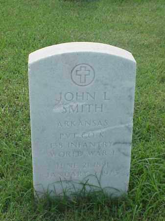 SMITH (VETERAN WWI), JOHN L - Pulaski County, Arkansas | JOHN L SMITH (VETERAN WWI) - Arkansas Gravestone Photos