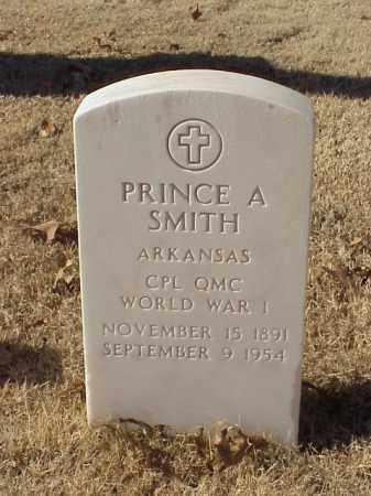 SMITH (VETERAN WWI), PRINCE A - Pulaski County, Arkansas | PRINCE A SMITH (VETERAN WWI) - Arkansas Gravestone Photos