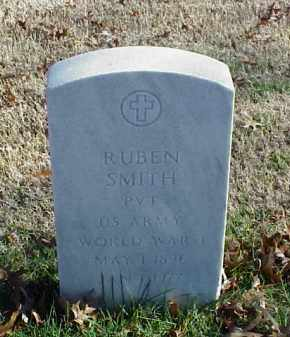 SMITH (VETERAN WWI), RUBEN - Pulaski County, Arkansas | RUBEN SMITH (VETERAN WWI) - Arkansas Gravestone Photos