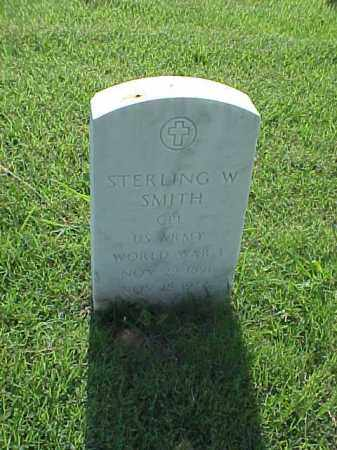 SMITH (VETERAN WWI), STERLING W - Pulaski County, Arkansas | STERLING W SMITH (VETERAN WWI) - Arkansas Gravestone Photos
