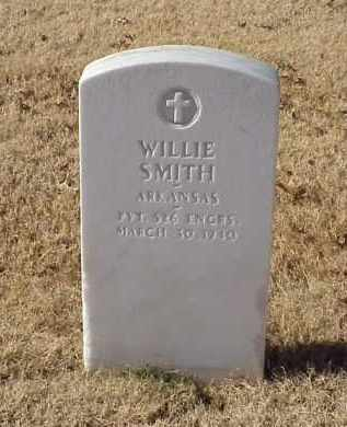 SMITH (VETERAN WWI), WILLIE - Pulaski County, Arkansas | WILLIE SMITH (VETERAN WWI) - Arkansas Gravestone Photos