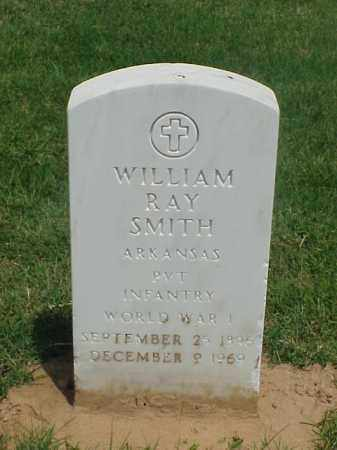 SMITH (VETERAN WWI), WILLIAM RAY - Pulaski County, Arkansas | WILLIAM RAY SMITH (VETERAN WWI) - Arkansas Gravestone Photos