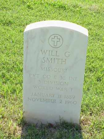 SMITH (VETERAN WWI), WILL G - Pulaski County, Arkansas | WILL G SMITH (VETERAN WWI) - Arkansas Gravestone Photos
