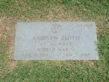 SMITH (VETERAN WWII), ANDREW - Pulaski County, Arkansas | ANDREW SMITH (VETERAN WWII) - Arkansas Gravestone Photos