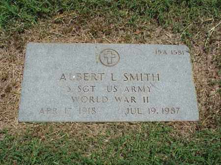 SMITH (VETERAN WWII), ALBERT - Pulaski County, Arkansas | ALBERT SMITH (VETERAN WWII) - Arkansas Gravestone Photos