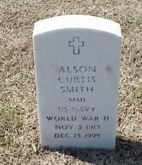SMITH (VETERAN WWII), ALSON CURTIS - Pulaski County, Arkansas | ALSON CURTIS SMITH (VETERAN WWII) - Arkansas Gravestone Photos