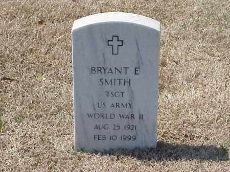 SMITH (VETERAN WWII), BRYANT E - Pulaski County, Arkansas | BRYANT E SMITH (VETERAN WWII) - Arkansas Gravestone Photos