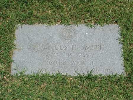 SMITH (VETERAN WWII), CHARLES H - Pulaski County, Arkansas | CHARLES H SMITH (VETERAN WWII) - Arkansas Gravestone Photos