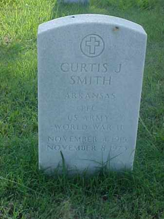 SMITH (VETERAN WWII), CURTIS J - Pulaski County, Arkansas | CURTIS J SMITH (VETERAN WWII) - Arkansas Gravestone Photos