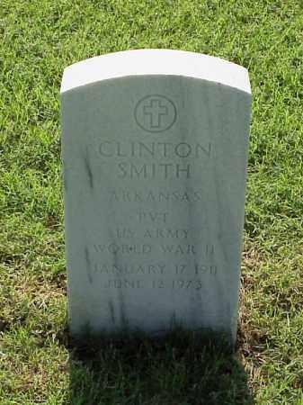 SMITH (VETERAN WWII), CLINTON - Pulaski County, Arkansas | CLINTON SMITH (VETERAN WWII) - Arkansas Gravestone Photos