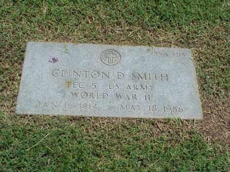SMITH (VETERAN WWII), CLINTON D - Pulaski County, Arkansas | CLINTON D SMITH (VETERAN WWII) - Arkansas Gravestone Photos