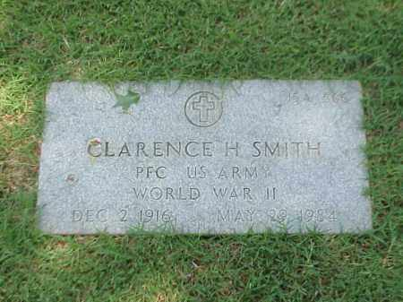 SMITH (VETERAN WWII), CLARENCE H - Pulaski County, Arkansas | CLARENCE H SMITH (VETERAN WWII) - Arkansas Gravestone Photos