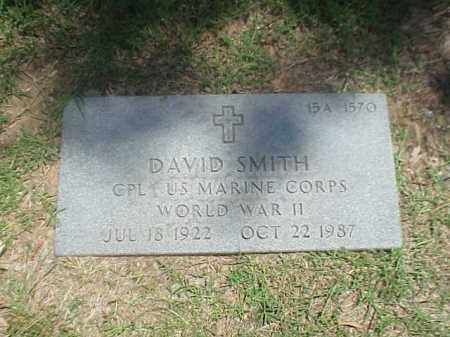 SMITH (VETERAN WWII), DAVID - Pulaski County, Arkansas | DAVID SMITH (VETERAN WWII) - Arkansas Gravestone Photos