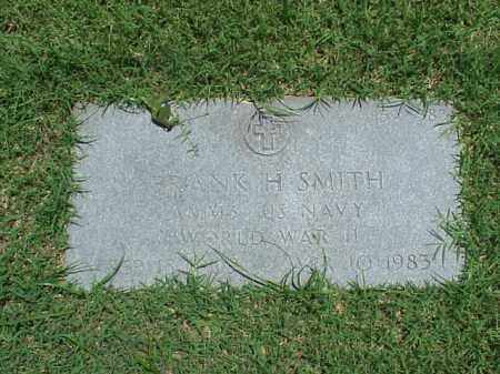 SMITH (VETERAN WWII), FRANK H - Pulaski County, Arkansas | FRANK H SMITH (VETERAN WWII) - Arkansas Gravestone Photos