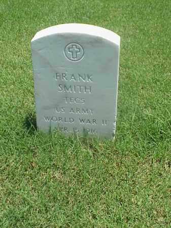 SMITH (VETERAN WWII), FRANK - Pulaski County, Arkansas | FRANK SMITH (VETERAN WWII) - Arkansas Gravestone Photos