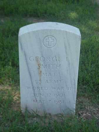 SMITH (VETERAN WWII), GEORGE L - Pulaski County, Arkansas | GEORGE L SMITH (VETERAN WWII) - Arkansas Gravestone Photos
