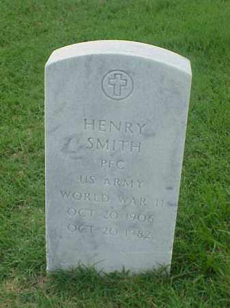 SMITH (VETERAN WWII), HENRY - Pulaski County, Arkansas | HENRY SMITH (VETERAN WWII) - Arkansas Gravestone Photos