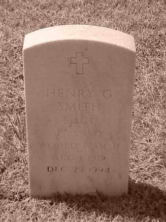 SMITH (VETERAN WWII), HENRY G - Pulaski County, Arkansas | HENRY G SMITH (VETERAN WWII) - Arkansas Gravestone Photos
