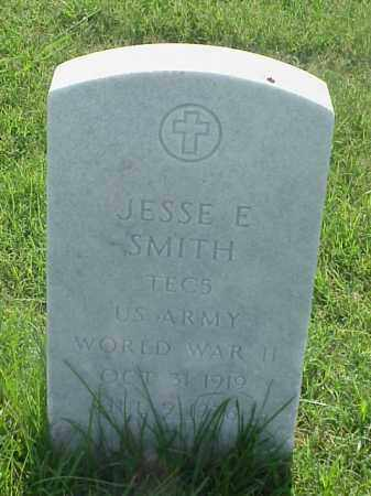 SMITH (VETERAN WWII), JESSE E - Pulaski County, Arkansas | JESSE E SMITH (VETERAN WWII) - Arkansas Gravestone Photos