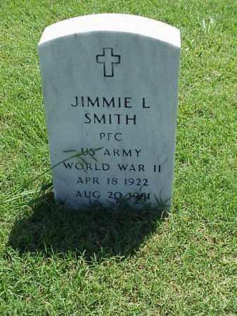 SMITH (VETERAN WWII), JIMMIE L - Pulaski County, Arkansas | JIMMIE L SMITH (VETERAN WWII) - Arkansas Gravestone Photos