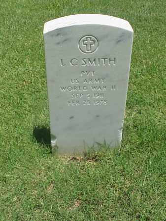 SMITH (VETERAN WWII), L C - Pulaski County, Arkansas | L C SMITH (VETERAN WWII) - Arkansas Gravestone Photos