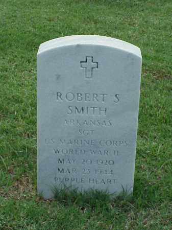 SMITH (VETERAN WWII), ROBERT S - Pulaski County, Arkansas | ROBERT S SMITH (VETERAN WWII) - Arkansas Gravestone Photos