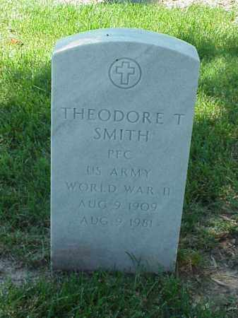 SMITH (VETERAN WWII), THEODORE T - Pulaski County, Arkansas | THEODORE T SMITH (VETERAN WWII) - Arkansas Gravestone Photos
