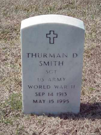 SMITH (VETERAN WWII), THURMAN D - Pulaski County, Arkansas | THURMAN D SMITH (VETERAN WWII) - Arkansas Gravestone Photos