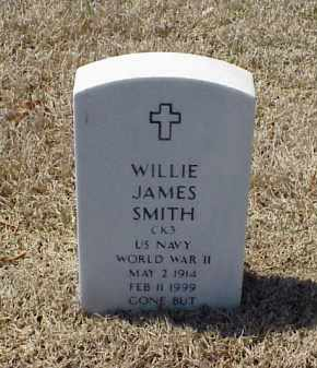 SMITH (VETERAN WWII), WILLIE JAMES - Pulaski County, Arkansas | WILLIE JAMES SMITH (VETERAN WWII) - Arkansas Gravestone Photos