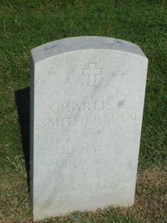 SMITHERMAN (VETERAN WWII), CHARLIE E - Pulaski County, Arkansas | CHARLIE E SMITHERMAN (VETERAN WWII) - Arkansas Gravestone Photos