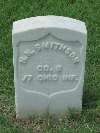 SMITHSON (VETERAN UNION), H N - Pulaski County, Arkansas | H N SMITHSON (VETERAN UNION) - Arkansas Gravestone Photos