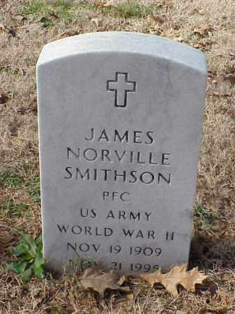 SMITHSON (VETERAN WWII), JAMES NORVILLE - Pulaski County, Arkansas | JAMES NORVILLE SMITHSON (VETERAN WWII) - Arkansas Gravestone Photos