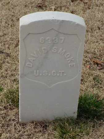 SMOKE (VETERAN UNION), DAVID - Pulaski County, Arkansas | DAVID SMOKE (VETERAN UNION) - Arkansas Gravestone Photos