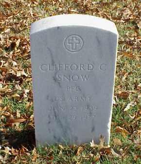 SNOW (VETERAN), CLIFFORD C - Pulaski County, Arkansas | CLIFFORD C SNOW (VETERAN) - Arkansas Gravestone Photos
