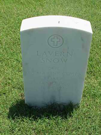 SNOW (VETERAN KOR), LAVERN - Pulaski County, Arkansas | LAVERN SNOW (VETERAN KOR) - Arkansas Gravestone Photos