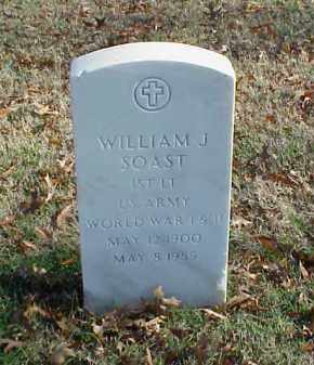 SOAST (VETERAN 2 WARS), WILLIAM J - Pulaski County, Arkansas | WILLIAM J SOAST (VETERAN 2 WARS) - Arkansas Gravestone Photos