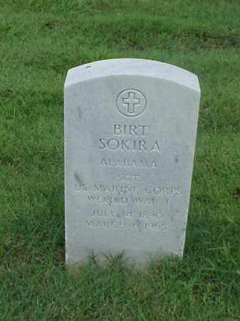 SOKIRA (VETERAN WWI), BIRT - Pulaski County, Arkansas | BIRT SOKIRA (VETERAN WWI) - Arkansas Gravestone Photos
