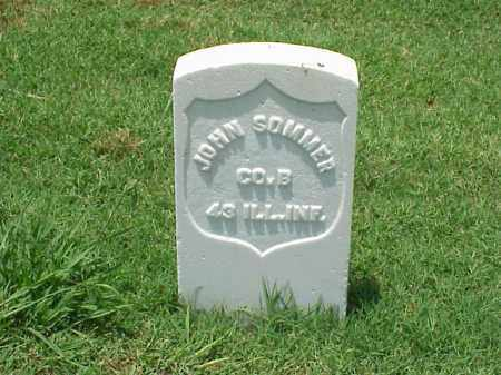 SOMMER (VETERAN UNION), JOHN - Pulaski County, Arkansas | JOHN SOMMER (VETERAN UNION) - Arkansas Gravestone Photos
