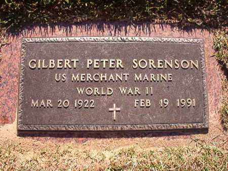 SORENSON (VETERAN WWII), GILBERT PETER - Pulaski County, Arkansas | GILBERT PETER SORENSON (VETERAN WWII) - Arkansas Gravestone Photos