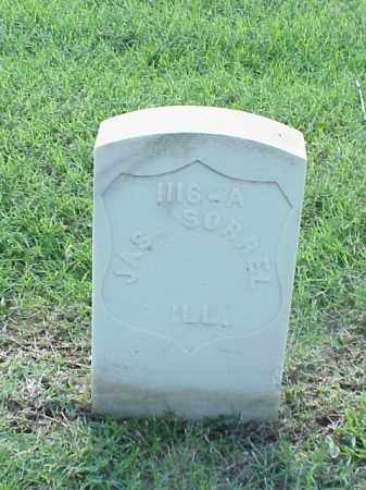 SORREL (VETERAN UNION), JAMES - Pulaski County, Arkansas | JAMES SORREL (VETERAN UNION) - Arkansas Gravestone Photos