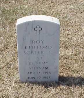 SORTER, JR (VETERAN VIET), ROY CLIFFORD - Pulaski County, Arkansas | ROY CLIFFORD SORTER, JR (VETERAN VIET) - Arkansas Gravestone Photos