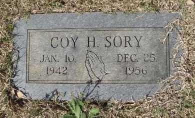 SORY, COY H - Pulaski County, Arkansas | COY H SORY - Arkansas Gravestone Photos