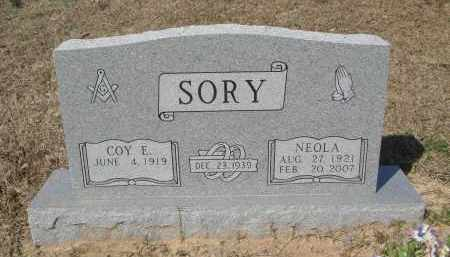 THOMPSON SORY, NEOLA - Pulaski County, Arkansas | NEOLA THOMPSON SORY - Arkansas Gravestone Photos