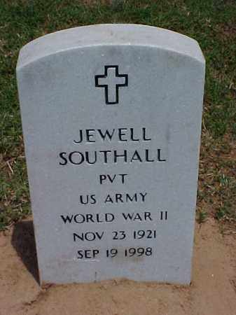 SOUTHALL (VETERAN WWII), JEWELL - Pulaski County, Arkansas | JEWELL SOUTHALL (VETERAN WWII) - Arkansas Gravestone Photos