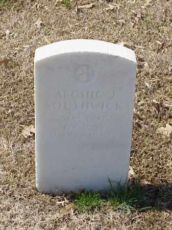 SOUTHWICK (VETERAN SAW), ARCHIE J - Pulaski County, Arkansas | ARCHIE J SOUTHWICK (VETERAN SAW) - Arkansas Gravestone Photos