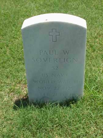 SOVEREIGN (VETERAN WWII), PAUL W - Pulaski County, Arkansas | PAUL W SOVEREIGN (VETERAN WWII) - Arkansas Gravestone Photos